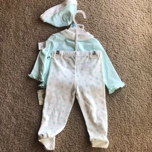 Little Me Matching Sets - Little Me baby girls Layette Set 6 months